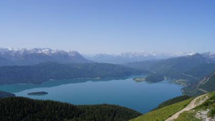Karwendelausläufer, Walchensee und Wetterstein