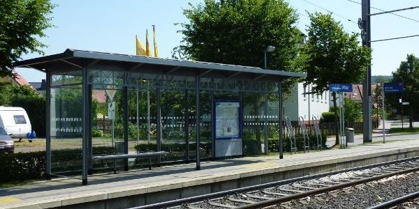 Straßenbahnhaltestelle Oberkaufungen-Mitte