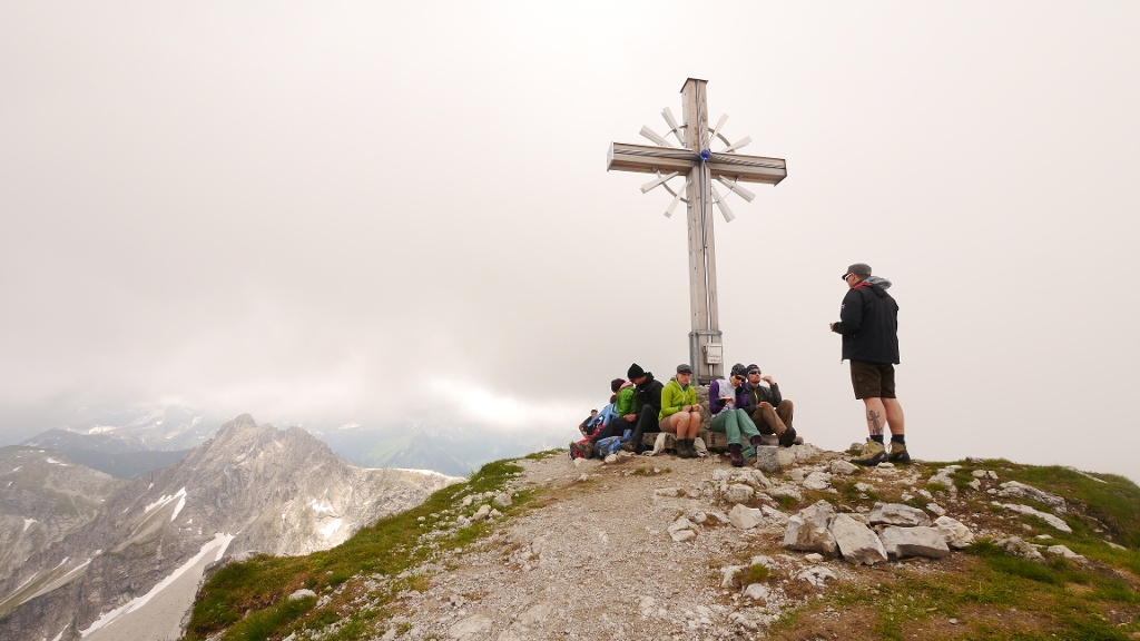 Geißhorn (2247 m) - am Gipfel  - @ Autor: Hartmut Wimmer  - © Quelle: Outdooractive Redaktion