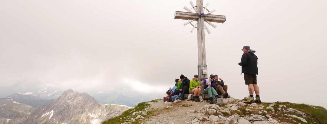 Geißhorn (2247 m) - am Gipfel