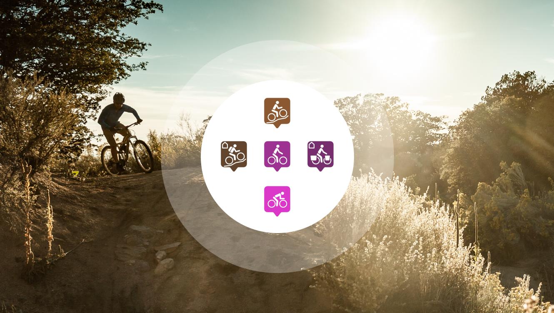 Radroutenplaner für die Navigation am Fahrrad