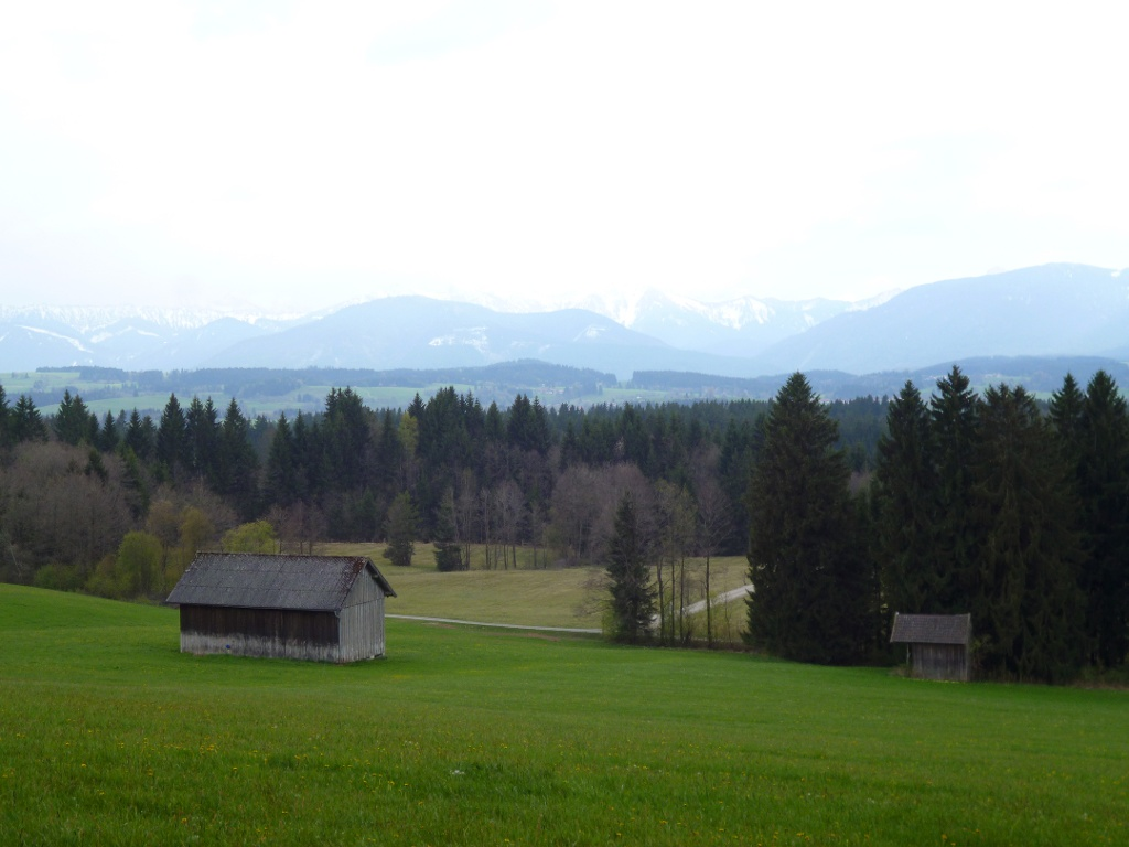 Panoramareicher Rückweg von Geigersau nach Schönberg. (Monika Heindl)
