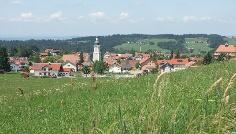 Blick auf Scheidegg.