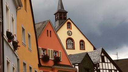 Eine Station auf unserer Mountainbike-Tour über den Grainskopf ist die schöne Altstadt von Bernkastel-Kues.
