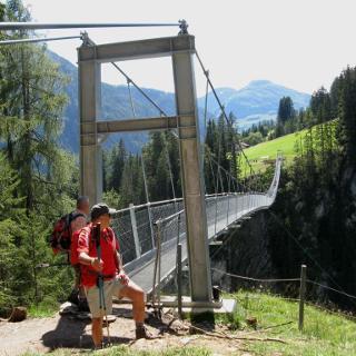 Hängebrücke von Holzgau