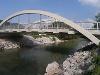 Wir überqueren die Lechbrücke in Vils. - © Quelle: Outdooractive Redaktion