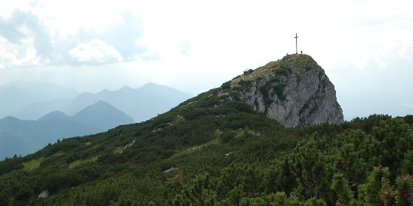 Gipfelkreuz der Benediktenwand