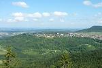 Vom Himmelstein können wir nach Gosheim hinüber schauen.