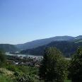 Eine der vielen Blicke vom Jägersteig ins Donautal.