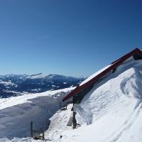 Falken-Alpe im Winter