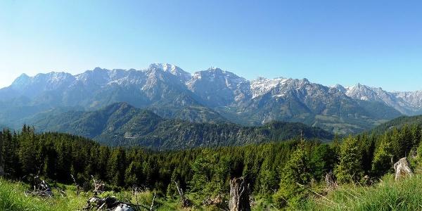 Panorama kurz vor der Steyrerhütte