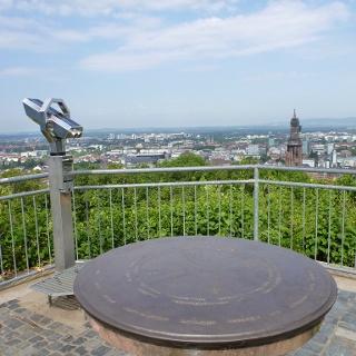 Panoramablick von der Ludwigshöhe