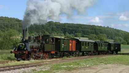 """Die historische Dampfeisenbahn """"Chanderli"""""""