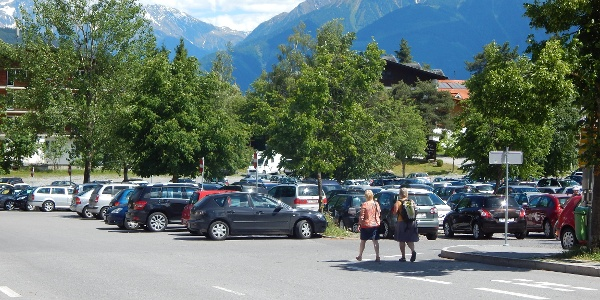 Parkplatz Hoch Imst