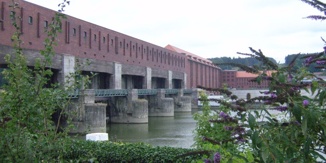 Das Kraftwerk Kachlet.