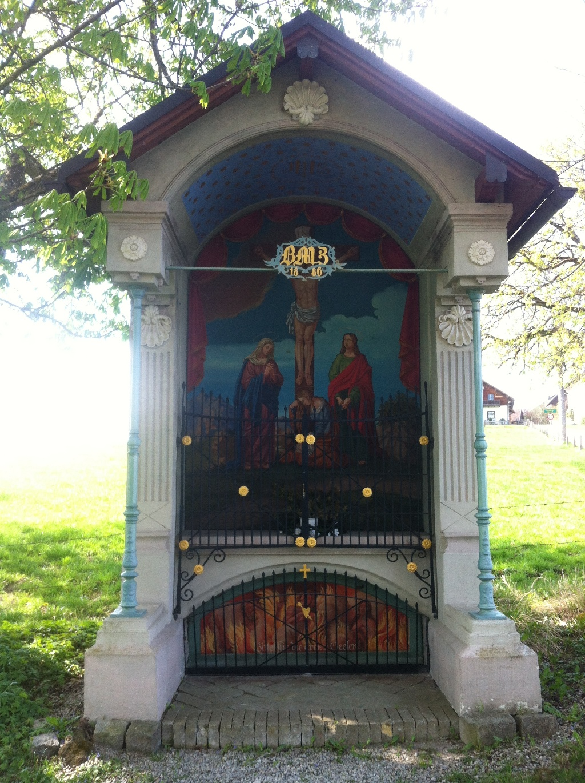 Offene Wegkapelle bei Oberhof ()