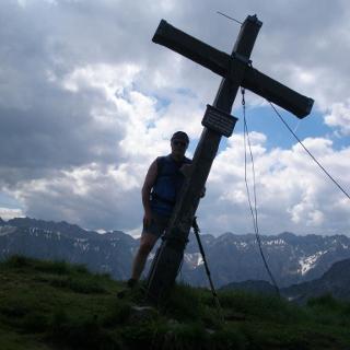 Gipfel Schnippenkopf 1833 Hm