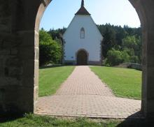 Burgbergkapelle bei Bieber