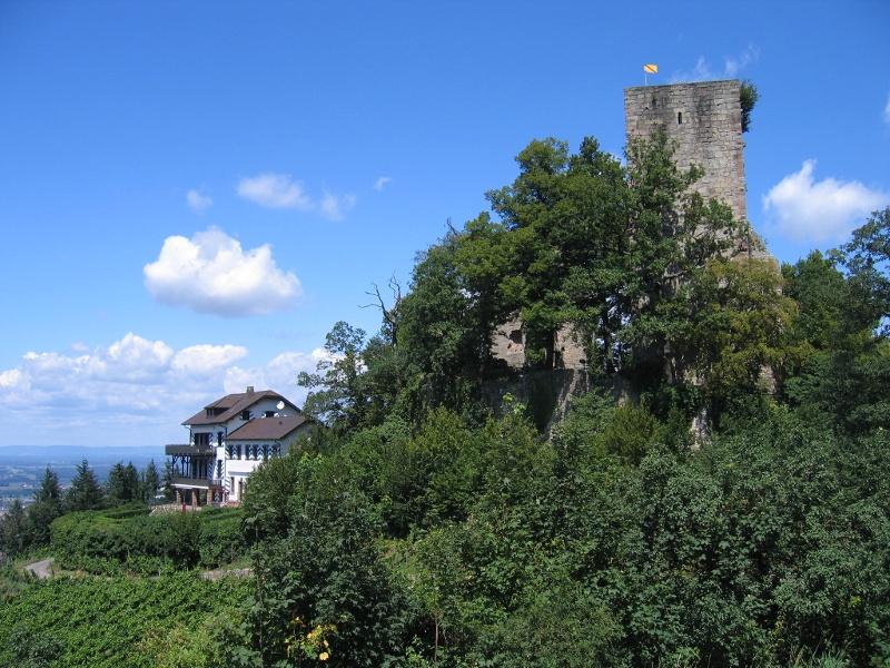 NaTour an der Burg Windeck bei Bühl