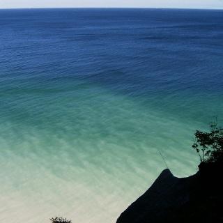 Der Wissower Klinken ist einer der markantesten Kreidefelsen an der Jasmunder Küste.