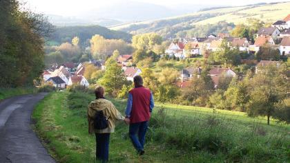 Bilck auf die Gemeinde Olsbrücken