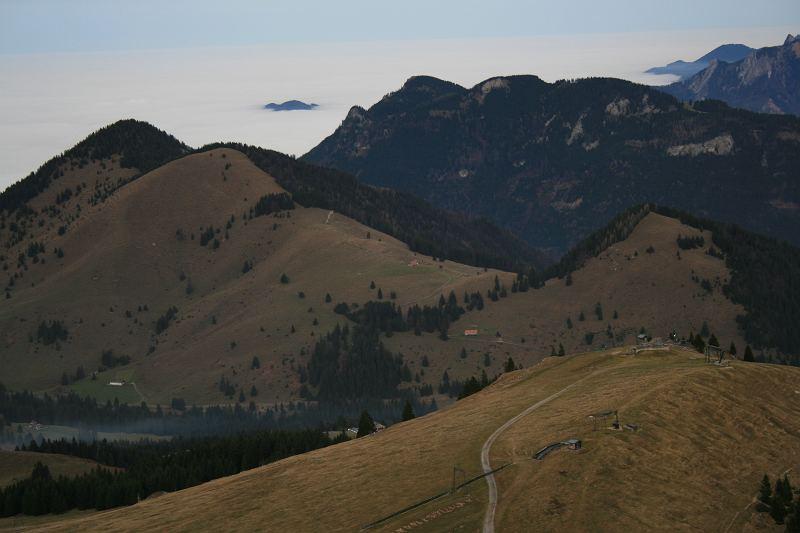 Berglandschaft rund um den Brünnstein