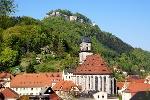 Foto Blick auf die Festung Königstein