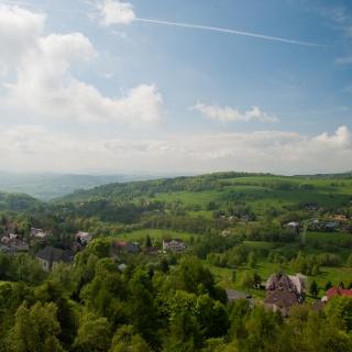 Blick in die Böhmische Schweiz
