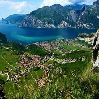 View from Monte Corno