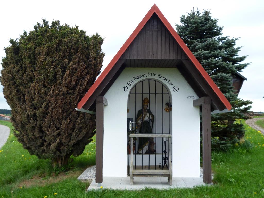 Die Donatus-Kapelle südöstlich von Altenstadt. (Monika Heindl)