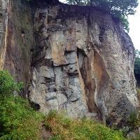 Felswand am Stenzelberg