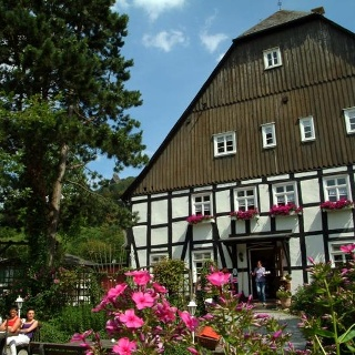 Rosencafe in Bruchhausen