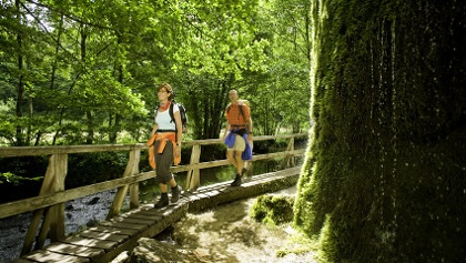 Hiking through the Eifel
