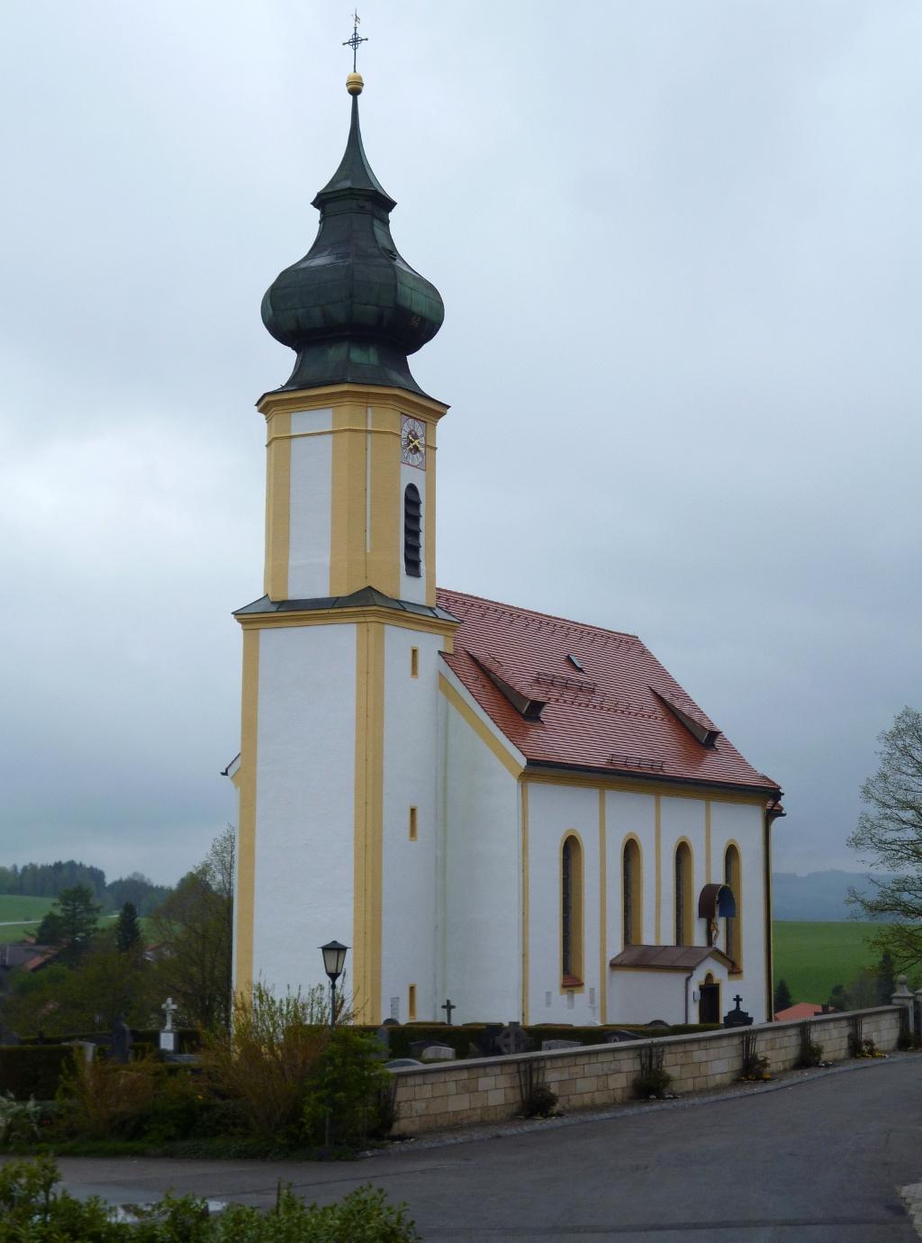 Die weithin sichtbare Wildsteiger Pfarrkirche St. Jakob. (Monika Heindl)