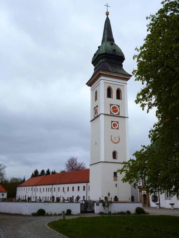 Die ehemalige Stiftskirche des Klosters Rottenbuch. (Monika Heindl)