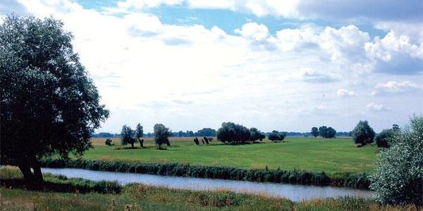 Es erwartert uns eine herrliche Flusslandschaft.