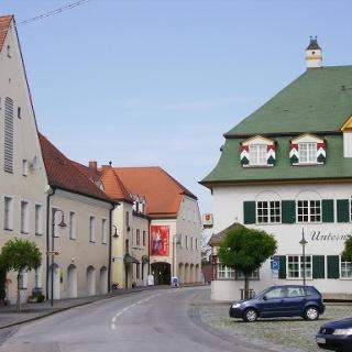Historischer Ortskern von Arnstorf.