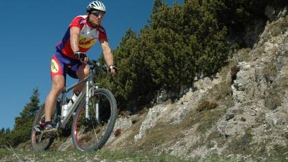 Biker im Stubaital