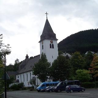 Die katholische Kirche in Ramsbeck.