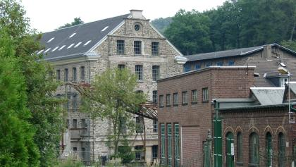 Bei unserer Wanderung kommen wir am Wülfing-Museum vorbei.