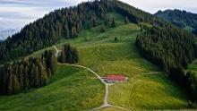 Mountain hike from Ofterschwang to the Ofterschwanger Horn