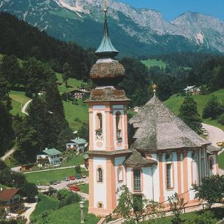 Die Wallfahrtskirche Maria Gern.