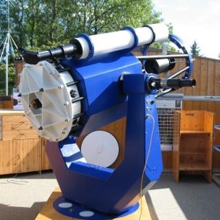 Das 60 cm Teleskop der Allgäuer Volkssternwarte Ottobeuren.