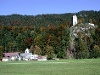 Der Ortsteil St. Anna mit Kirche und Ruine Vilsegg. - @ Autor: Rellektrebor, Lizenz: gemeinfrei - © Quelle: Outdooractive Redaktion