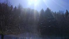 Schnee und Sonne: die perfekte Kombination.
