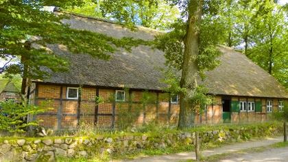 """Heidemuseum """"Dat ole Huus"""" in Wilsede"""