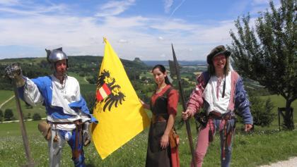 Historische Wächter an der alten Landesgrenze