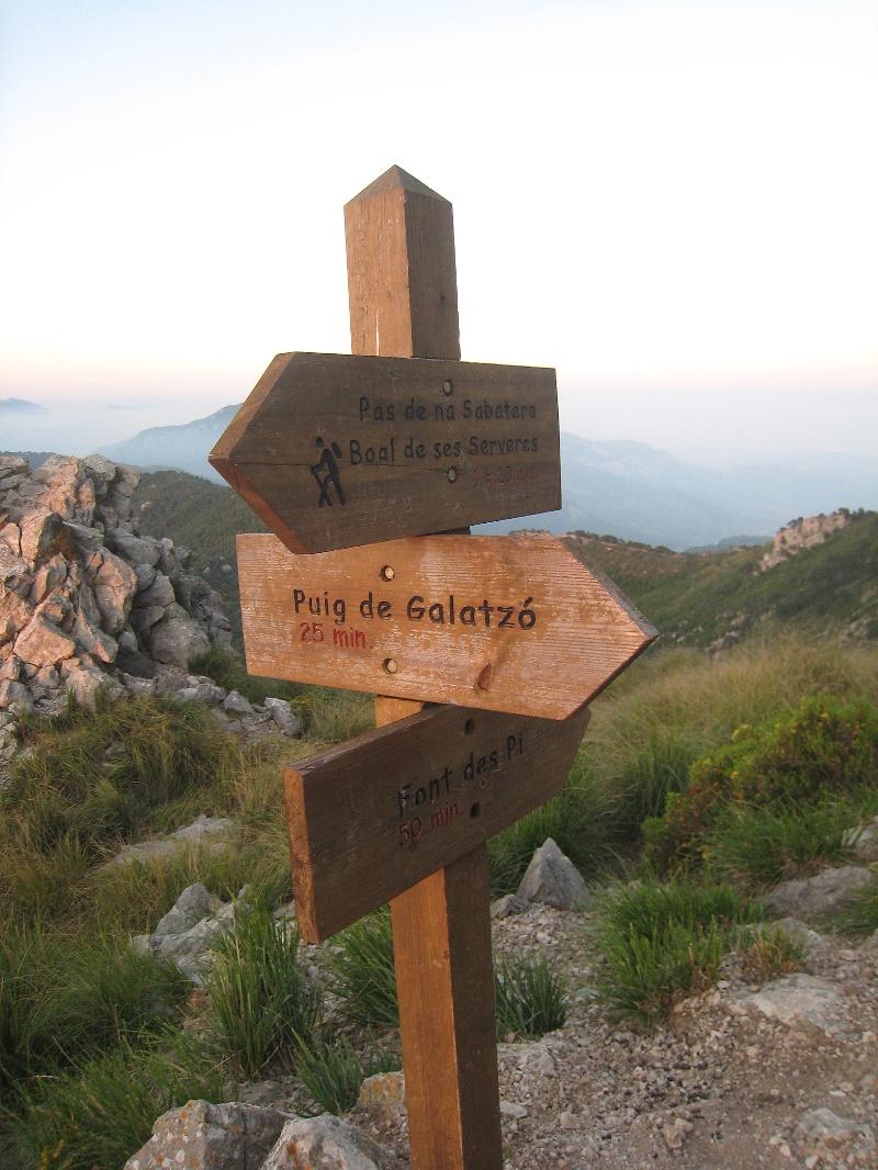 Auf den Puig de Galatzó bei Estellencs