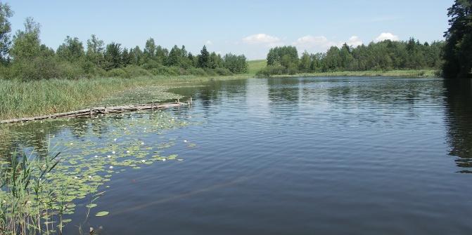 Blauer See heißt dieses Kleinod.