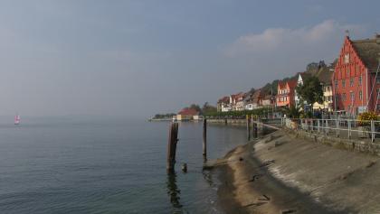 Blick auf Meersburg.